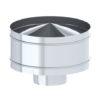Дефлектор TMF ф115-200_0,5мм нерж