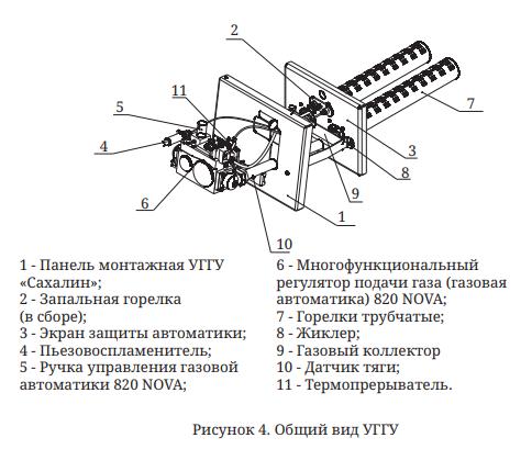 ггу Сахалин-4 общий вид
