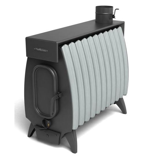 ТМФ Огонь Батарея 11 Лайт Серый конвектор